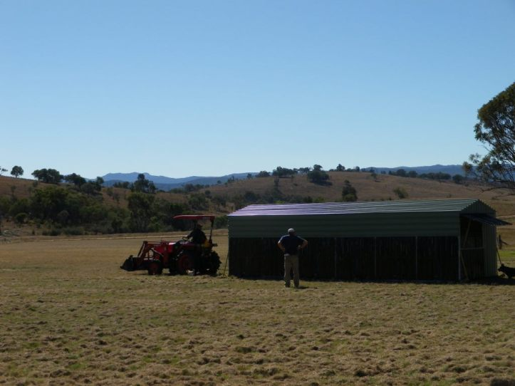 michael and stuart grower shed May 2016